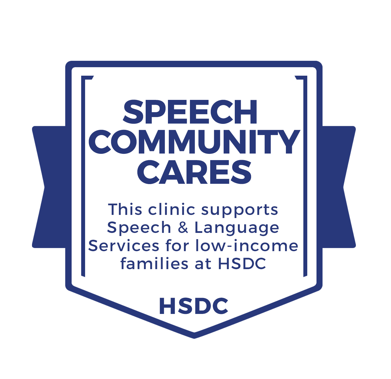 Speech Community Cares Fund Badge